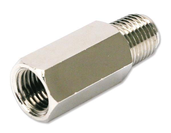 Клапан обратный VIAIR 1/4М - 1/4П никель NPT