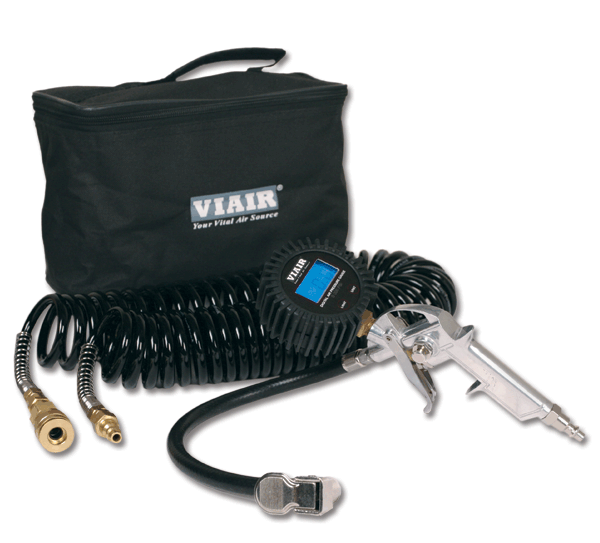 Комплект для подкачки колес VIAIR цифровой манометр 2,5 200 PSI шланг сумка