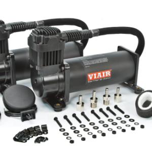 Комплект из 2-х компрессоров VIAIR 444C черный матовый
