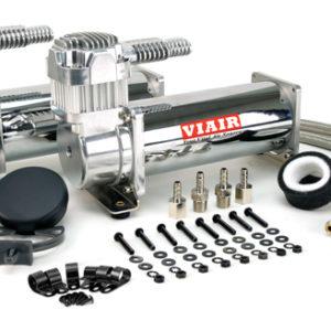 Комплект из 2-х компрессоров VIAIR 444C хром