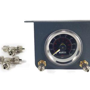 Система контроля давления (2 контура, двухстрелочный манометр с подсветкой) 2 PM Aride