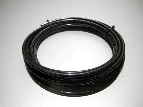 Трубка для пневмо систем Camozzi полиамид (РА12 рилсан) черная D1=6мм D2=4мм L=1000мм